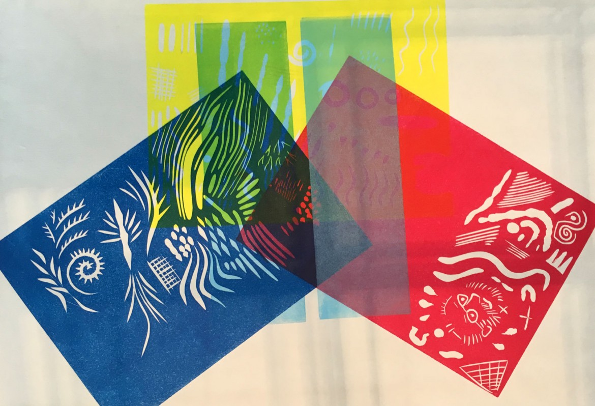 Linocut Colour Workshop