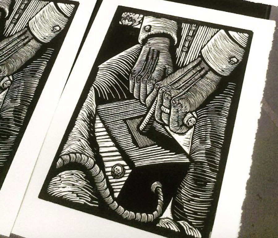 Linocut Artists - Scott Minzy