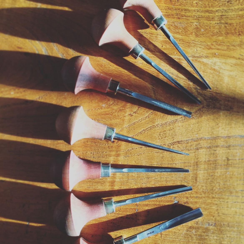 Pfeil Lino cutting tools