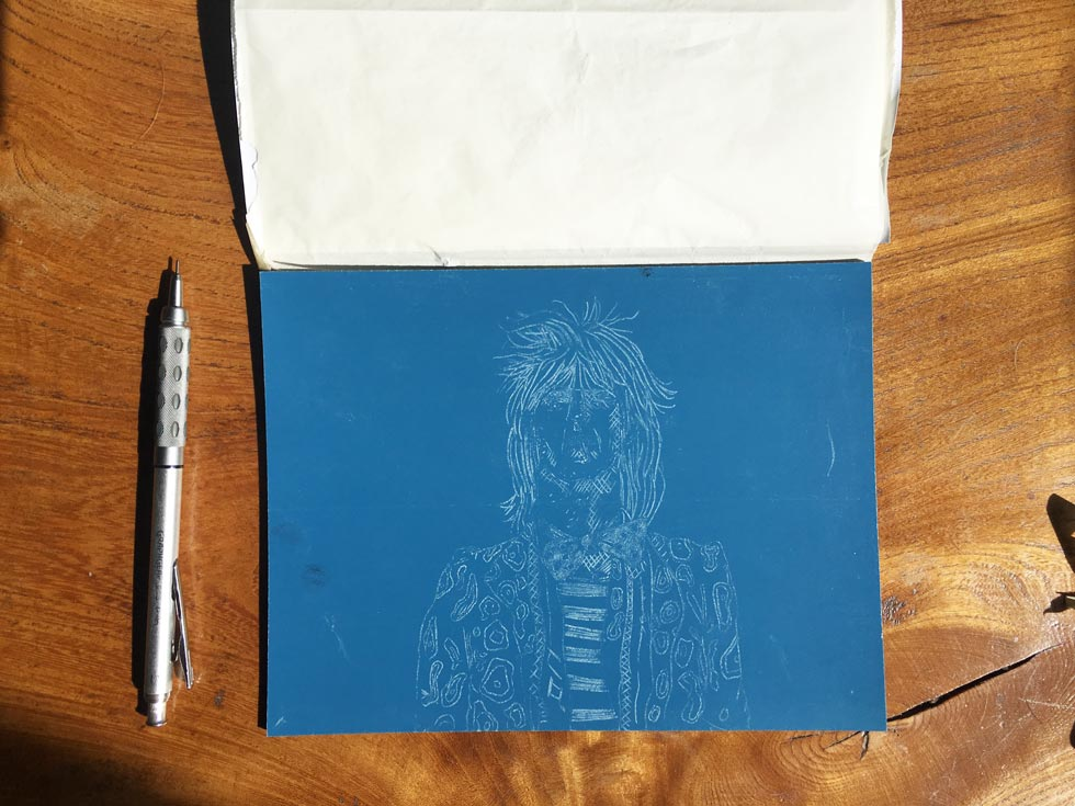Transferring-a-sketch-to-lino-10