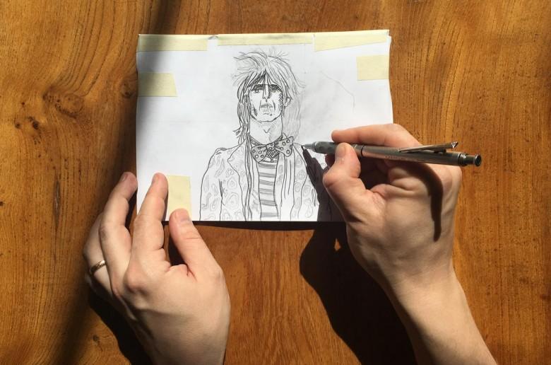 Transfer a sketch to lino - cover image
