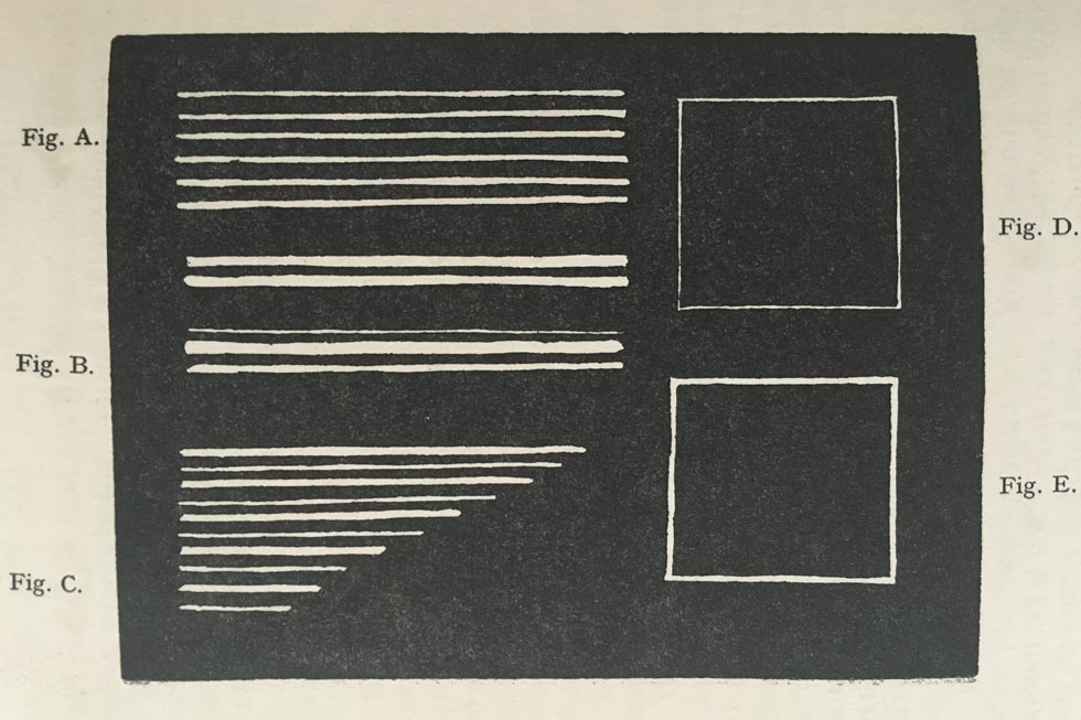 Linocutting exercises for beginners. 01 Straight lines