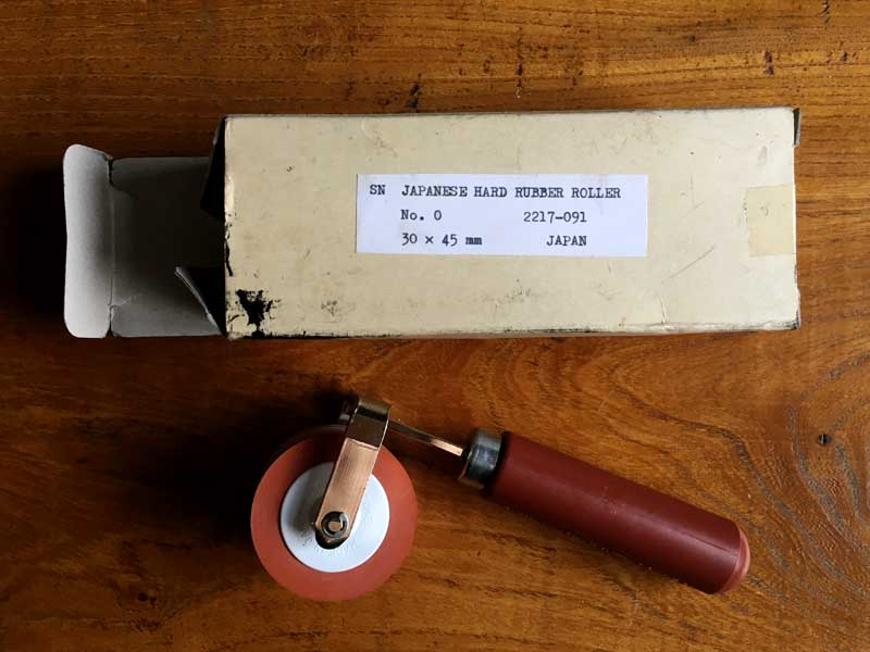Ink Rollers for Printmaking - Draw Cut Ink Press