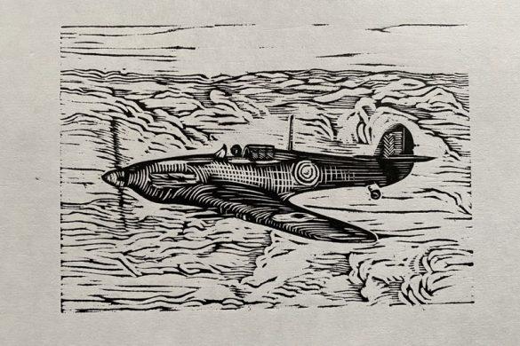 WW2 Hurricane Fighter Plane