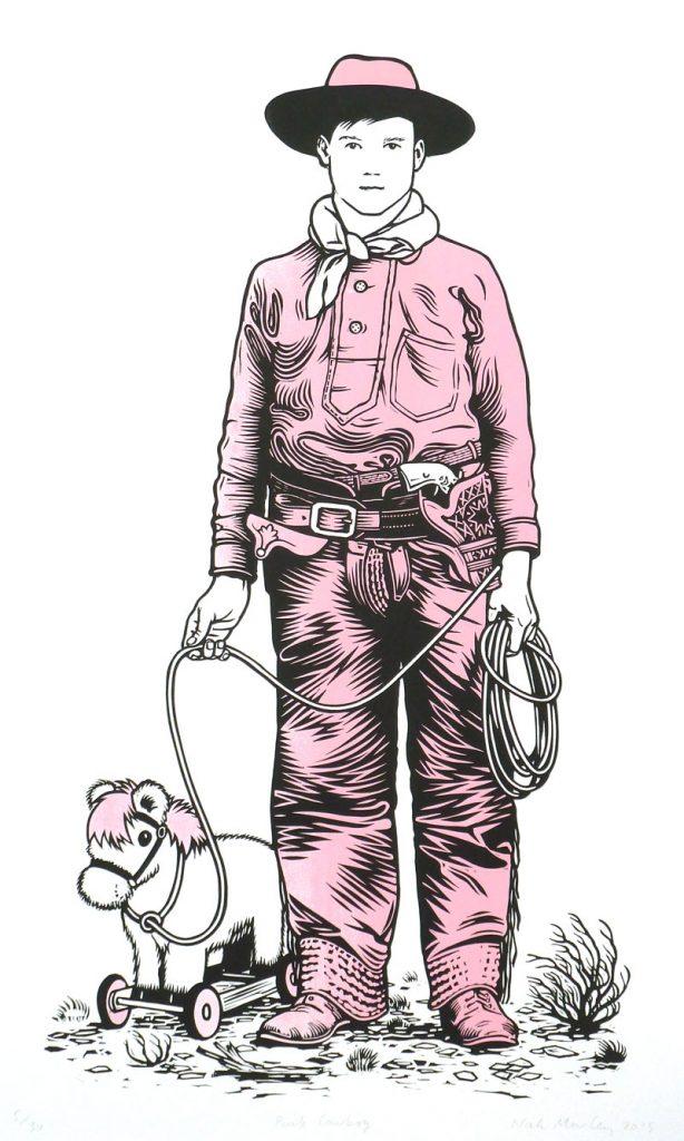 Linocutboy-Cowboy-Print