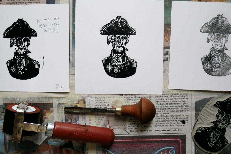 Printing Perfect Linocuts