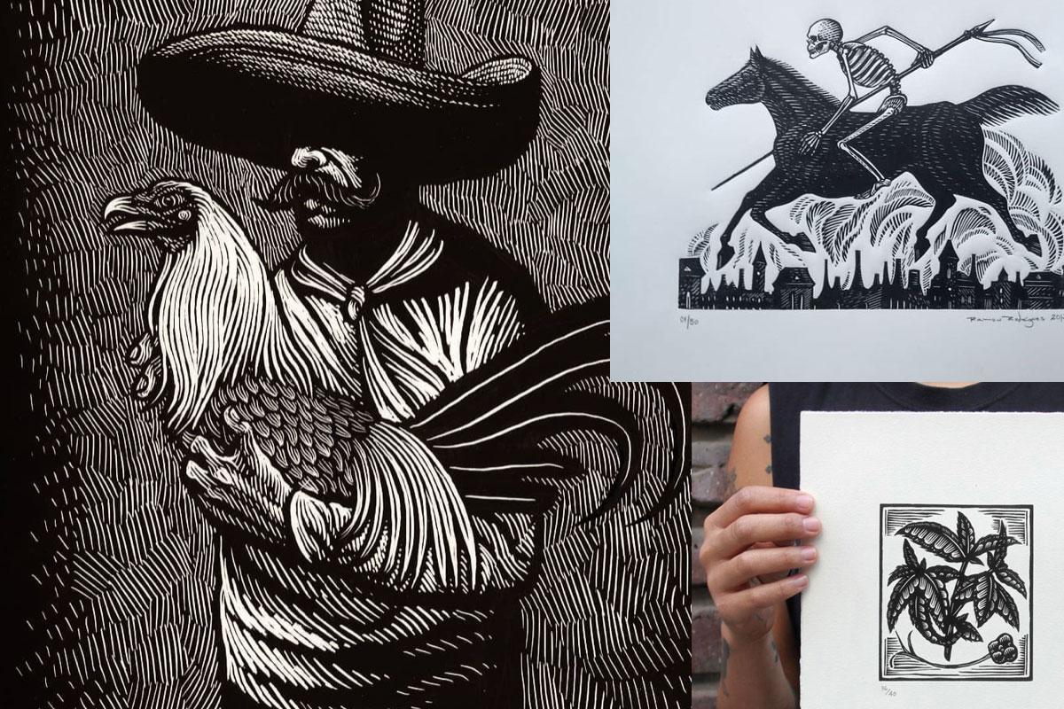 Latin American Linocut Artists Draw Cut Ink Press