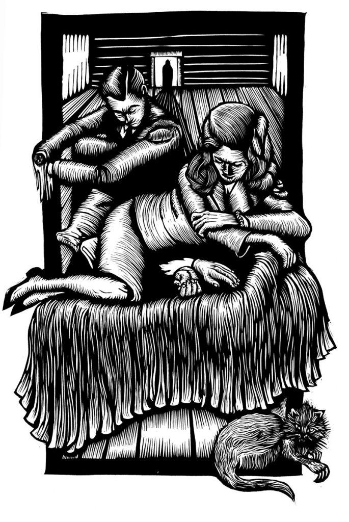 Linocut-Print-Maker-Scott-Minzy-Untitled