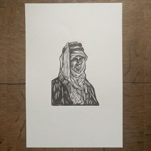 laurence-of-arabia-linocut-thumbnail